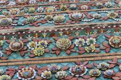 Chedis - Mosaik, Wat Pho - Bangkok Temple-Tour