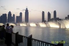 Dubai Mall Fontänen