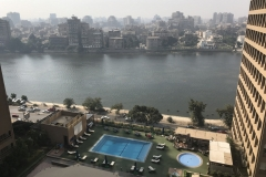 Imperial Suite - Hilton Cairo World Trade Center Residences - Aussicht vom Balkon 01