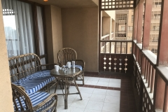 Imperial Suite - Hilton Cairo World Trade Center Residences - Balkon 00