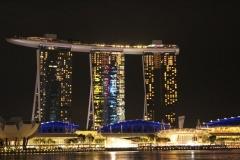 Singapur bei Nacht 01