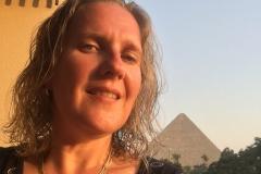 Mena House Hotel - Pyramiden-Blick vom Balkon 01