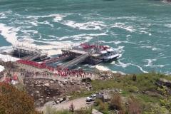 Niagarafälle - Hornblower Anlegestelle