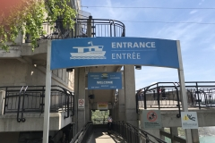 Niagarafälle - Hornblower Eingang