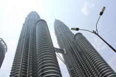 Petronas Towers Vormittag
