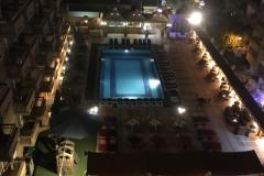 Aussicht Safir Hotel Cairo - Nacht