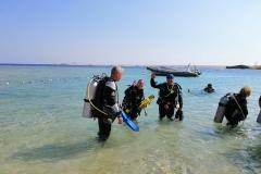 Sharm El Naga - Bootstauchen