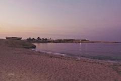Sharm El Naga am Abend
