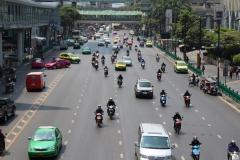 Verkehr Bangkok - Shopping Malls in Bangkok
