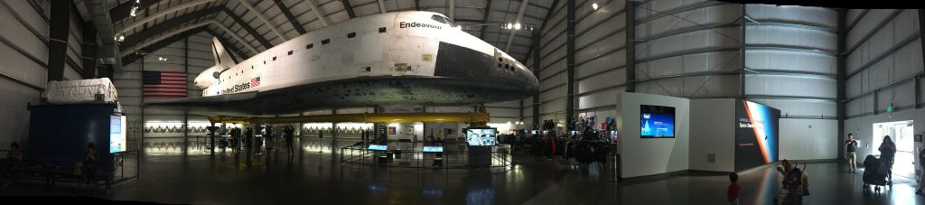 Endevor Space Shuttle - California Science Center