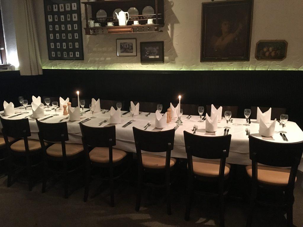 Restaurant Sitte - Tafel