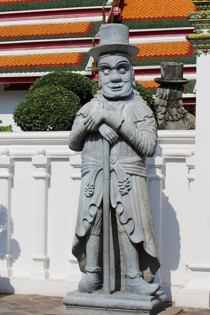 Wat Pho - Seltsame Kreatur