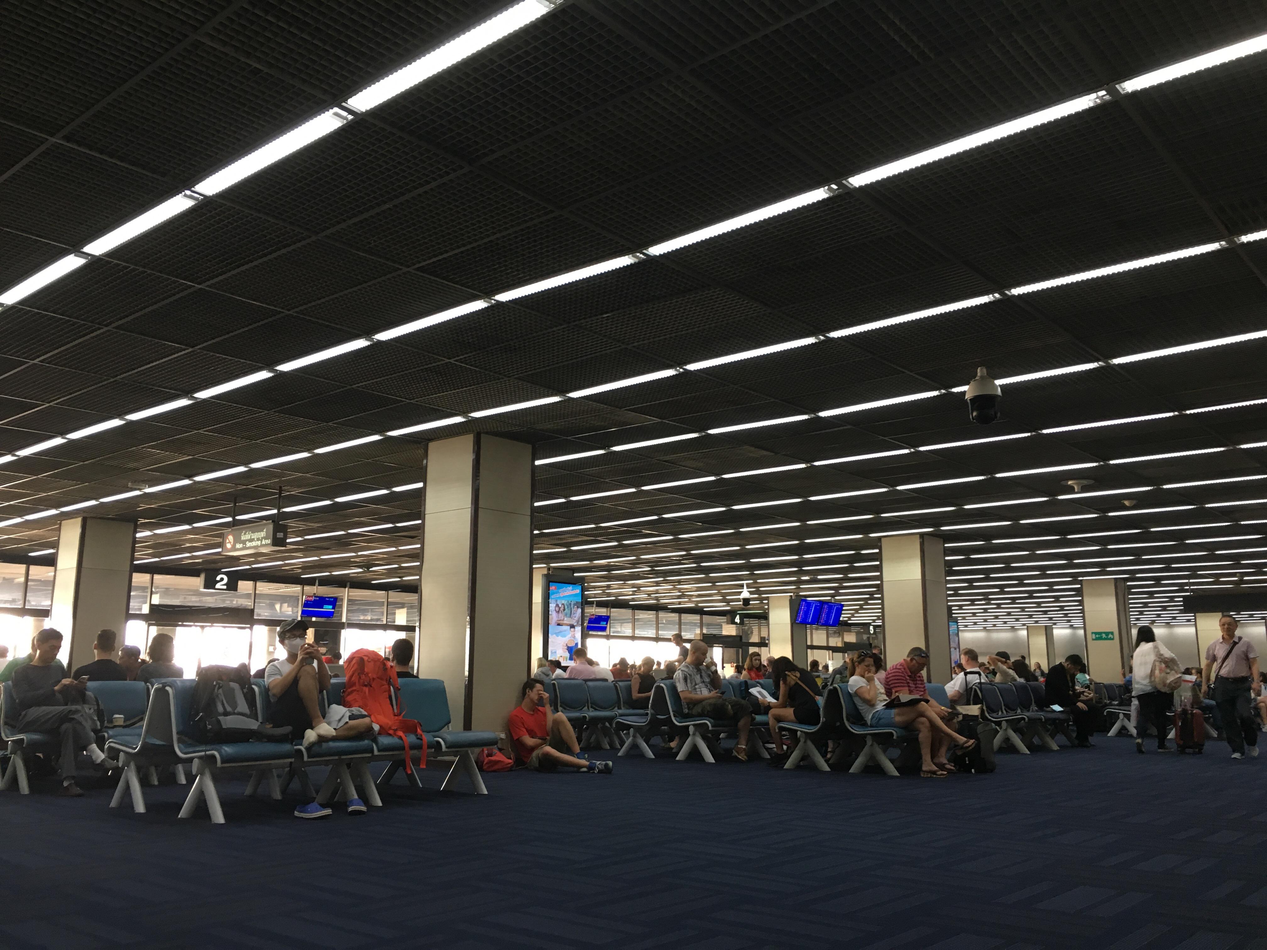 Abflughalle Don Mueang International Airport, Bangkok