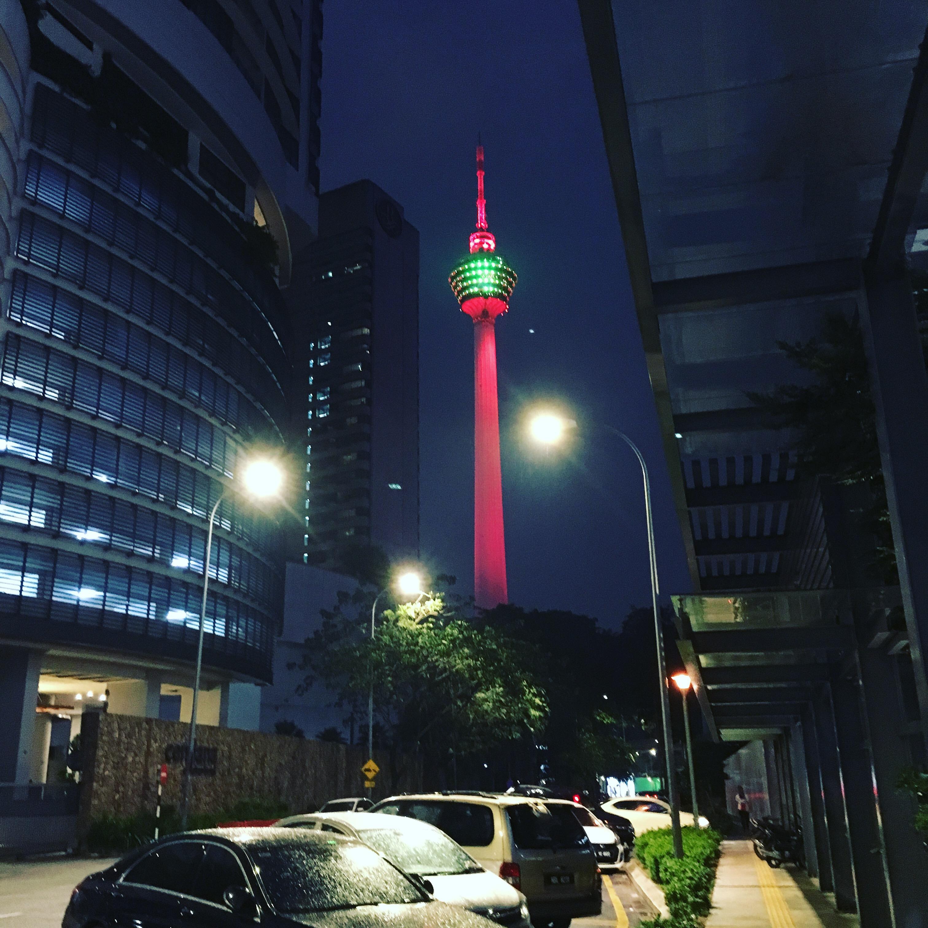 Menara Kuala Lumpur - Fernsehtu