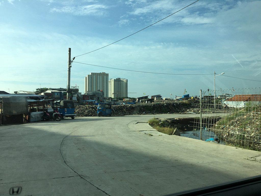 Jakarta - ärmere Gebiete