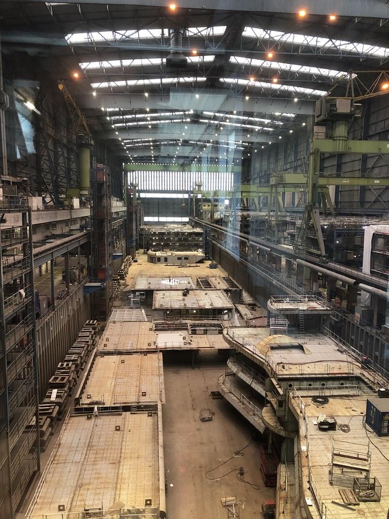Meyer Werft - Module für Kreuzfahrtschiffe