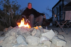 Panamint Springs Resort - Lagerfeuer