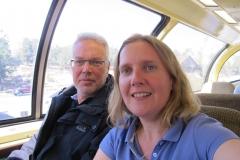 Rückfahrt Grand Canyon nach Williams
