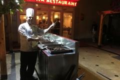 Abendessen - Grillmeister - Bella Vista Resort Hurghada