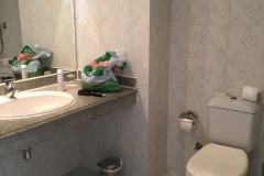 Waschtisch + WC - Bella Vista Resort Hurghada - Zimmer 329