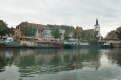 Bootsfahrt auf der Ill, Straßburg (Frankreich)