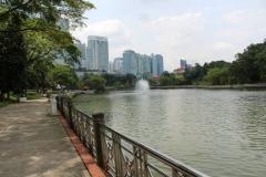 Botanischer Garten Wasserfontäne 02