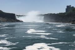 Niagarafälle - Hornblower Bootstour 02