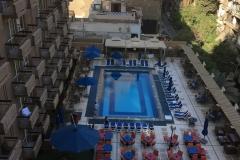 Aussicht Safir Hotel Cairo - Tag