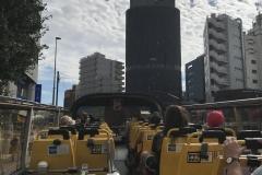 Tokio - Hop-on Hop-off Bus (offenes Oberdeck)