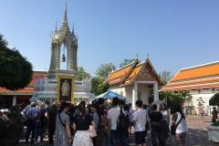 Wat Pho - Tempel des liegenden Buddah - Impressionen