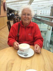 Pause vom Sightseeing - Costa Cafe Princess Mall, Edinburgh