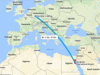 Flug - Frankfurt Hurghada - 5vorFlug
