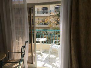 Hurghada all Inclusive Tag 2 - Balkon