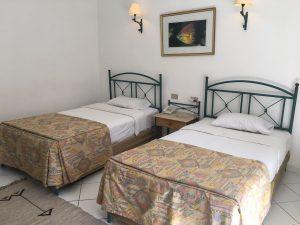 Hurghada all Inclusive Tag 2 - Betten