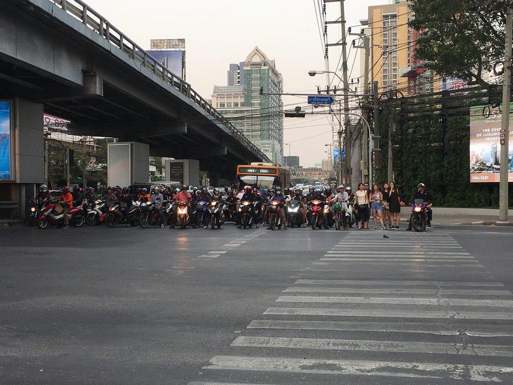 Kreuzung Bangkok