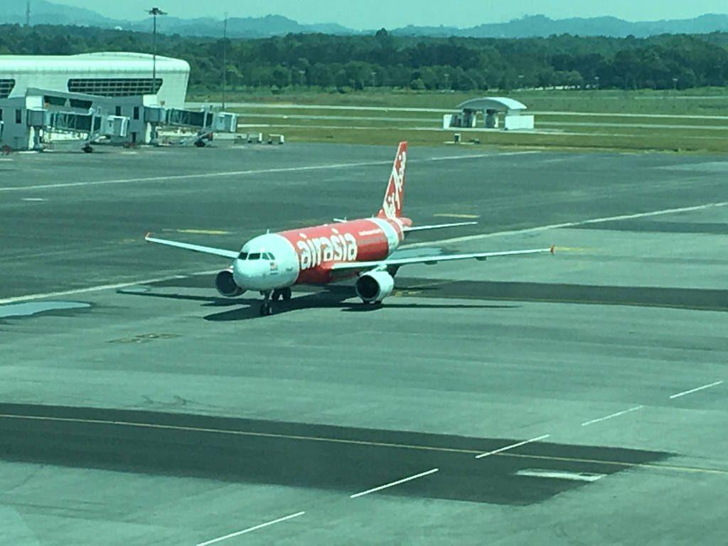Von Klia2 zum Changi Airport Singapur