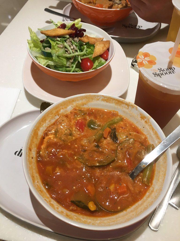 The Soup Spoon, Singapur