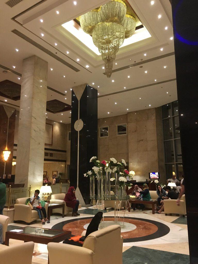 Eingangshalle Safir Hotel Cairo
