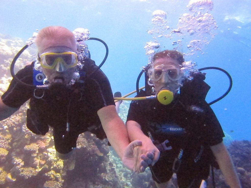 Tachen im Roten Meer