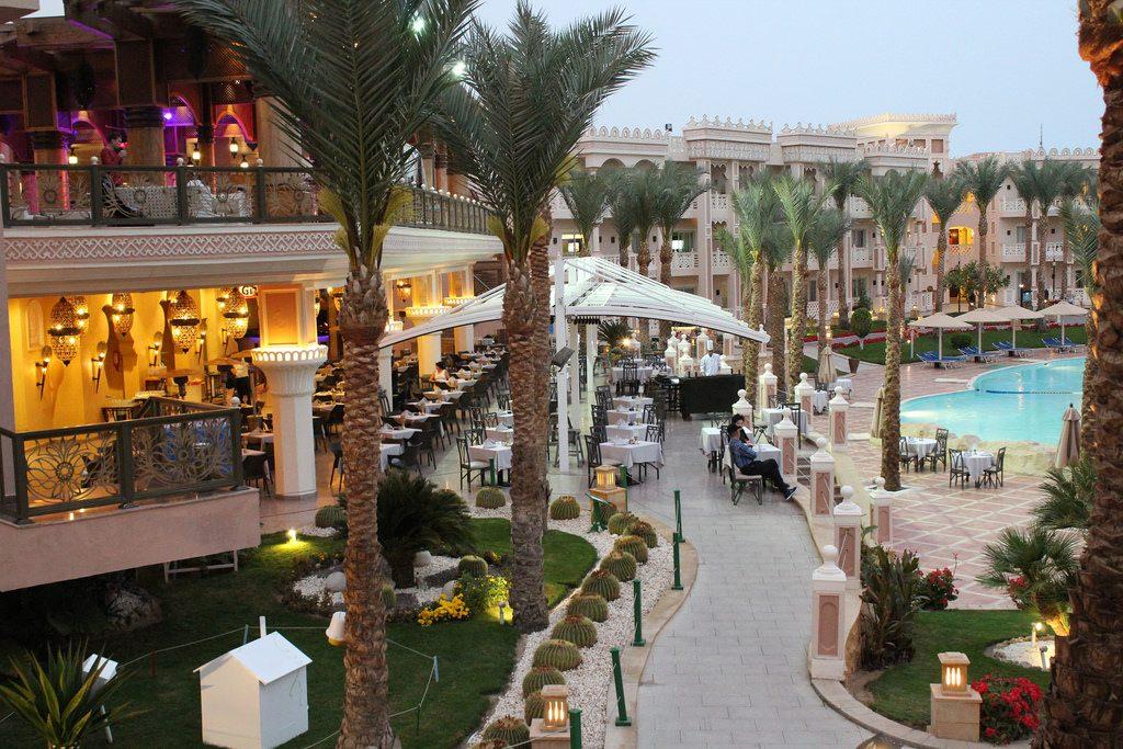 Albatros Palace Resort - Terrasse