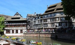 Straßburg am Wochenende - Petite France