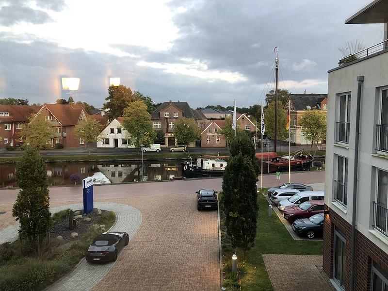 Aussicht aus dem Zimmer - Park Inn by Radisson Papenburg