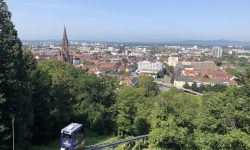 Freiburg erkunden - Schlossberg-Bahn