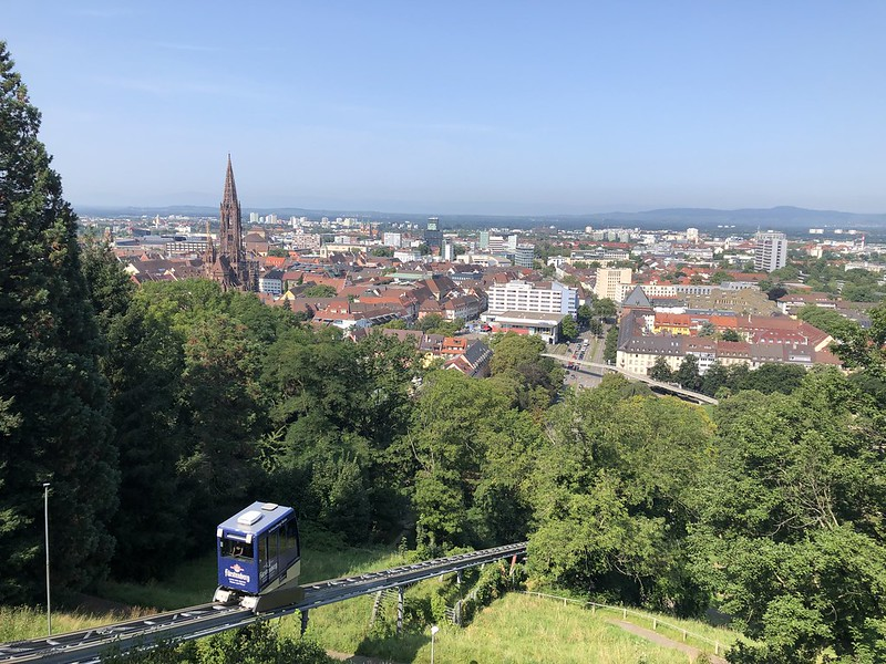 Freiburg anschauen - Schlossberg-Bahn